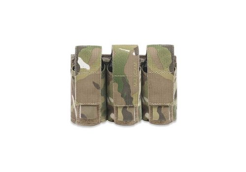 Warrior Triple 40mm Grenade/ Flashbang Pouch - MultiCam