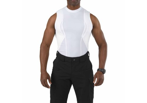 5.11 Tactical Sleeveless Holster Shirt - White