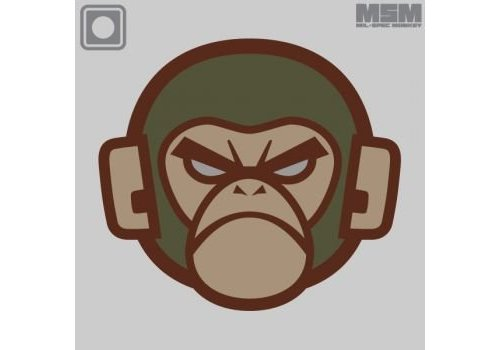 MilSpec Monkey Monkey Head PVC Patch