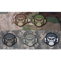 Monkey Head PVC Patch