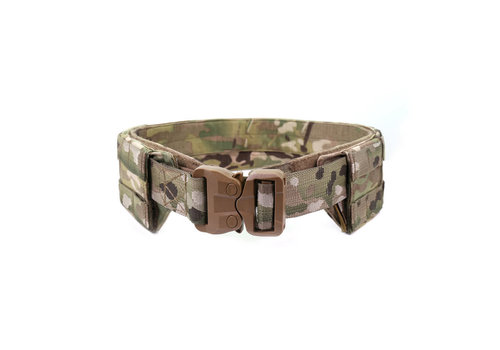 Warrior Low Profile Molle Belt w Cobra Belt- MultiCam