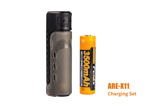 Fenix  ARE-X11 18650 charging kit with 3500mAh accu