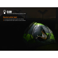 CL09 Portable High-Performance Camping Lantern - Black
