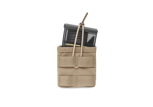 Warrior Single MOLLE Open Pouch H&K 417 - Coyote Tan