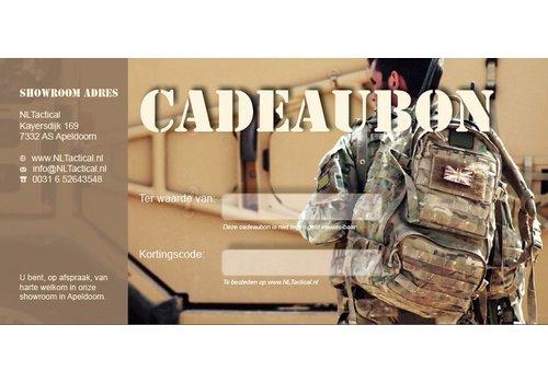 Cadeaubon NLTactical € 10,-