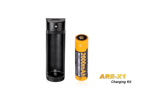 Fenix  ARE-X1 18650 charging kit with 2600mAh accu