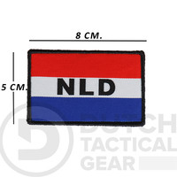 Dutch NLD Flag 50 X 80 mm - Red White Blue