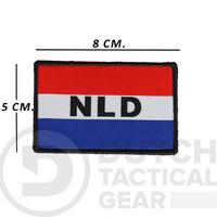 Niederländische NLD Flagge 50 X 80 mm - Rot, Weiß, Blau