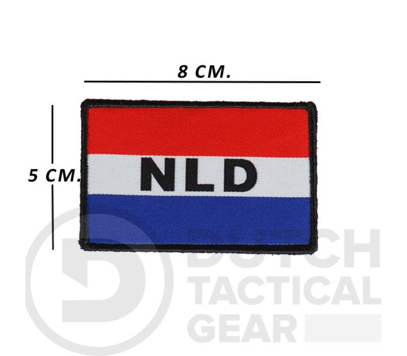 Nederlandse NLD Vlag 50 X 80 mm - Rood Wit Blauw