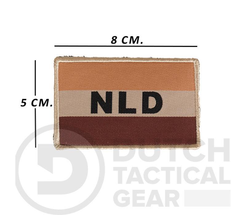 Niederländische NLD Flagge 50 X 80 mm - Desert