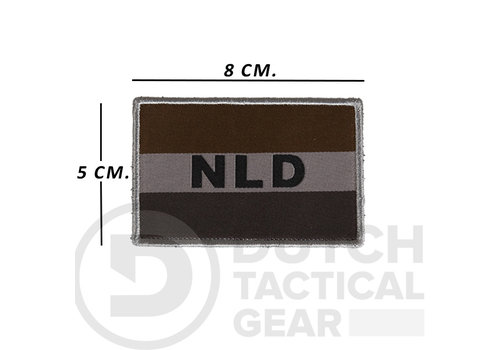 NLTactical Nederlandse NLD Vlag 50 X 80 mm - Ranger Green