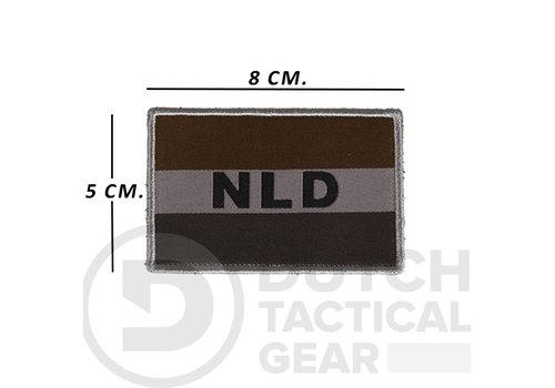 NLTactical Niederländische NLD Flagge 50 X 80 mm - Ranger Green