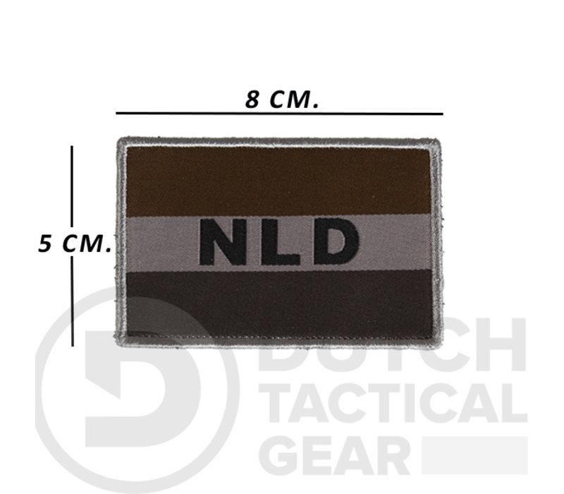 Dutch NLD Flag 50 X 80 mm - Ranger Green