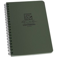 Maxi Side Spiral Notebook 22 X 28cm - Olive Drab