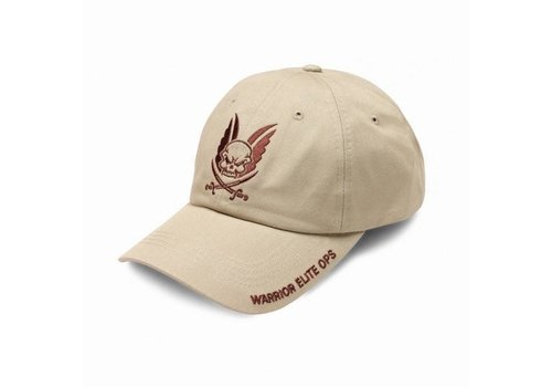 Warrior Logo Cap with Coyote Tan Embroidery