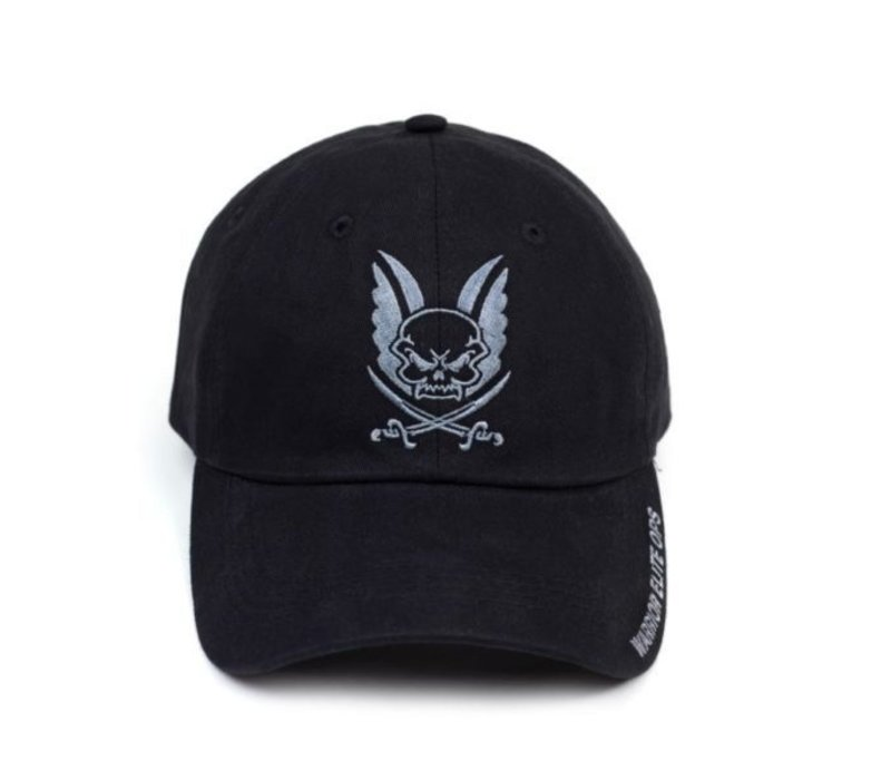 Logo Cap with Black Embroidery