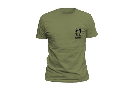 Warrior Logo T-Shirt - Olive Drab