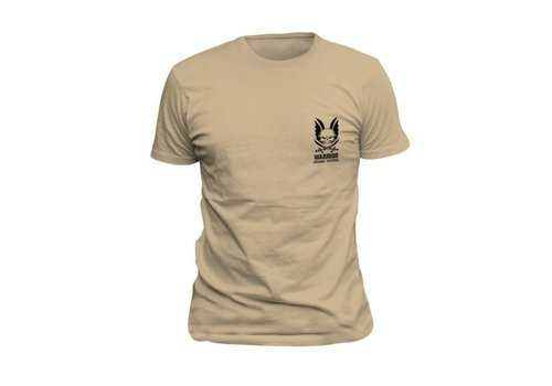 Warrior Logo T-Shirt - Tan
