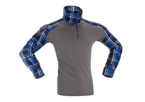 Invader Gear Flannel Combat Shirt - Blue