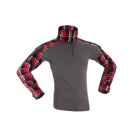 Flannel Combat Shirt - Red