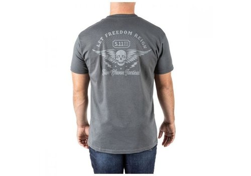 5.11 Tactical Let Freedom Reign Tee - Charcoal