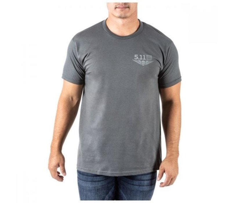 Let Freedom Reign Tee - Charcoal