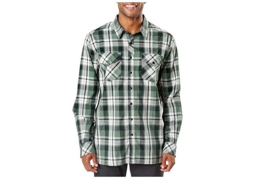 5.11 Tactical Peak Long Sleeve Shirt -  Thyme Plaid