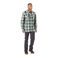 Peak Long Sleeve Shirt - Thyme Plaid