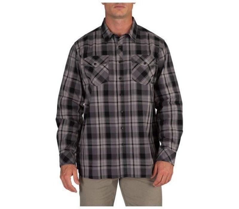 Peak Long Sleeve Shirt - Flint Plaid