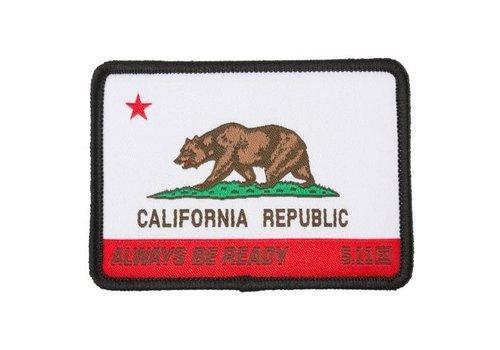 5.11 Tactical California State Bear Patch - Multi