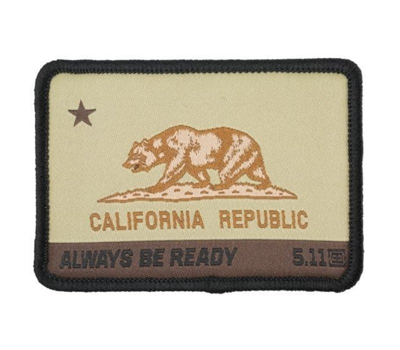 California State Bear Patch - Coyote