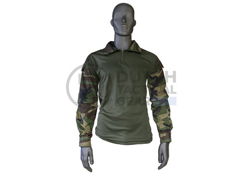 Dutch Tactical Gear Combat Shirt version 2 -US Woodland