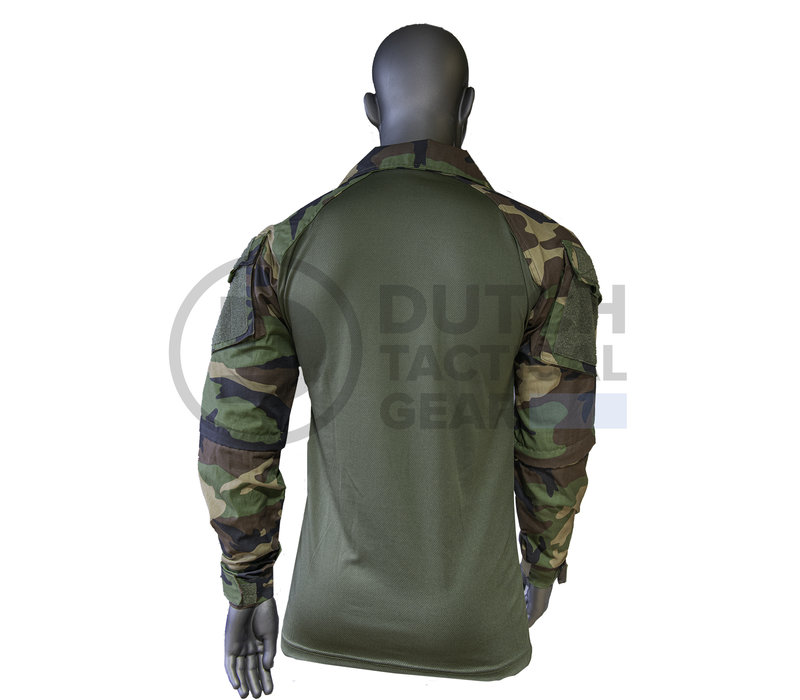 Combat Shirt version 2 -US Woodland