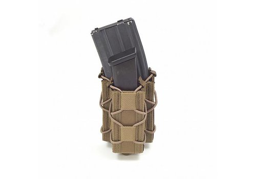 Warrior Single Quick Mag with Single Pistol Pouch - Coyote Tan