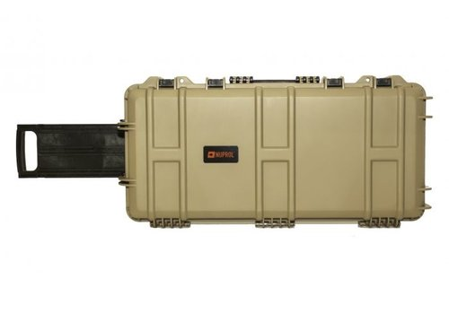 Nuprol Medium Hard Case - PnP Foam - Tan