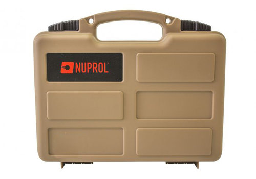 Nuprol Small Hard Case -  PnP Foam - Tan