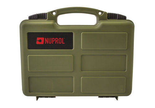 Nuprol Small Hard Case -  PnP Foam - Green