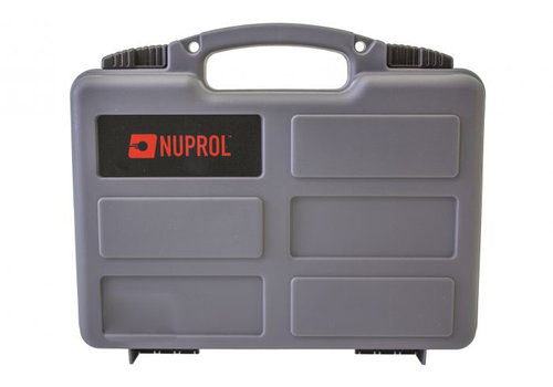 Nuprol Small Hard Case -  PnP Foam - Grey