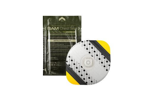 SAM Medical Products Chest Seal met ventiel 2.0
