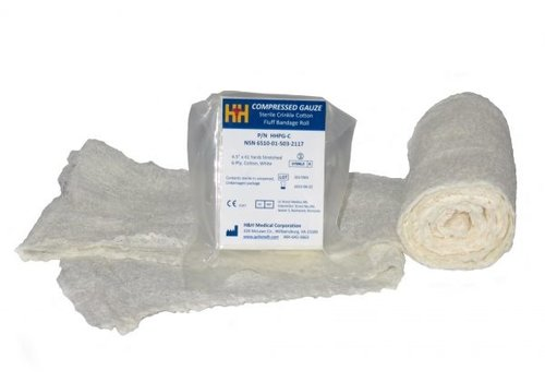H&H Medical Compressed Gauze