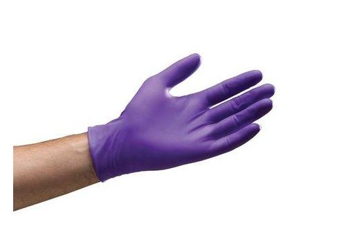 Halyard Nitrile Gloves - Purple