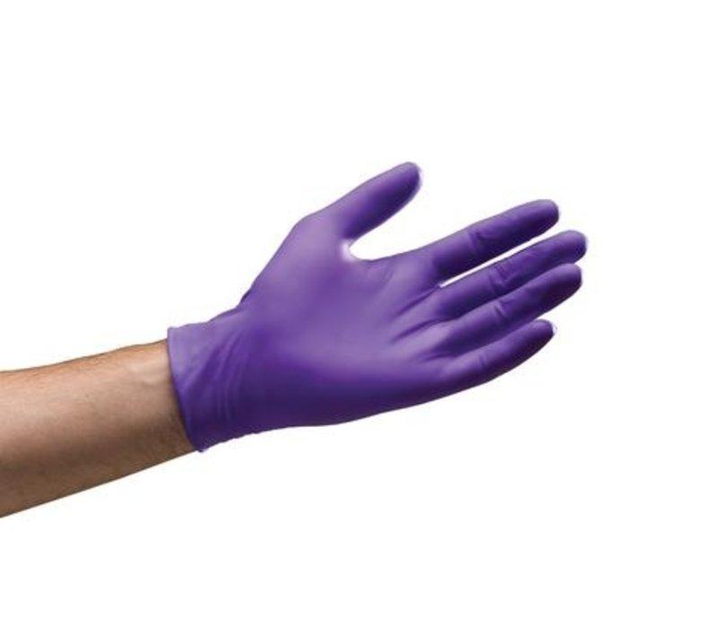 Nitrile Handschuhe - Lila
