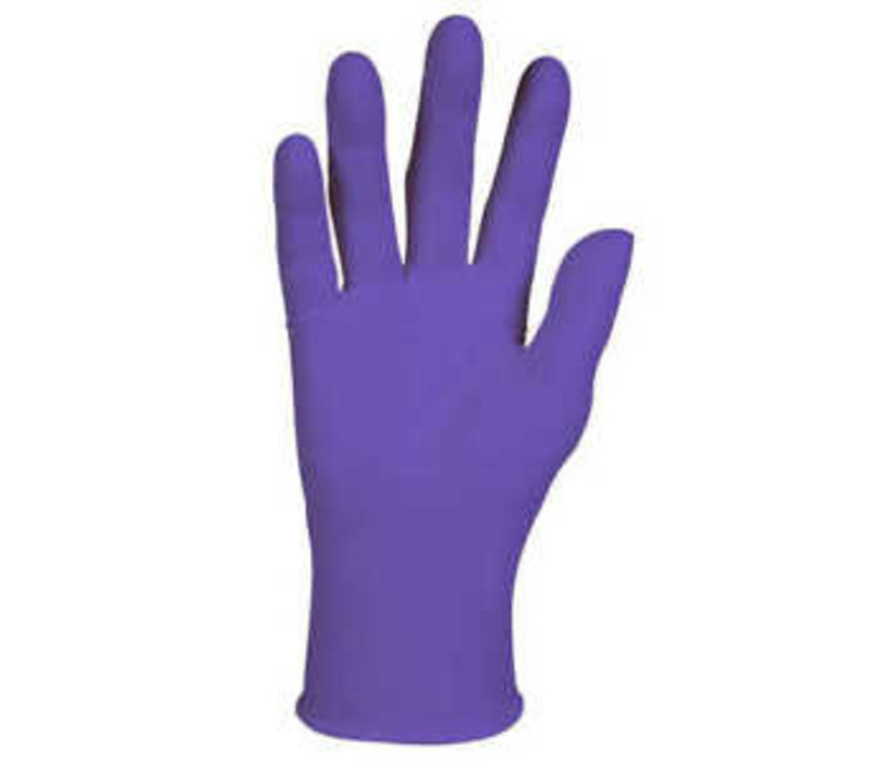 Nitrile Gloves - Purple