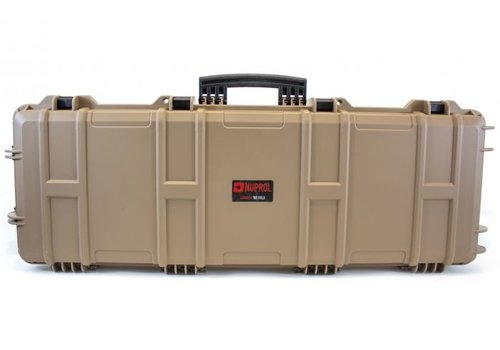 Nuprol Large Hard Case -  PnP Foam - Tan