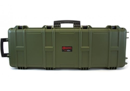 Nuprol Large Hard Case -  PnP Foam - Green