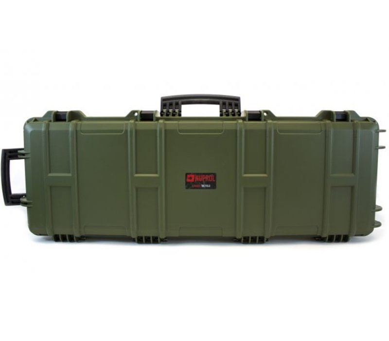 Large Hard Case -  PnP Foam - Green