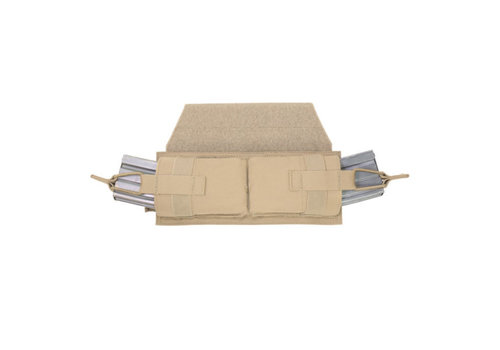 Warrior Horizontal Velcro Mag Pouch - Coyote Tan