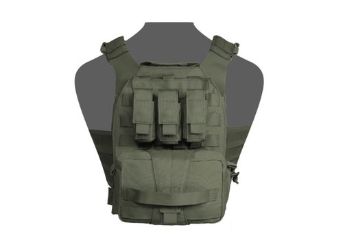 Warrior Assaulters Back Panel - Olive Green