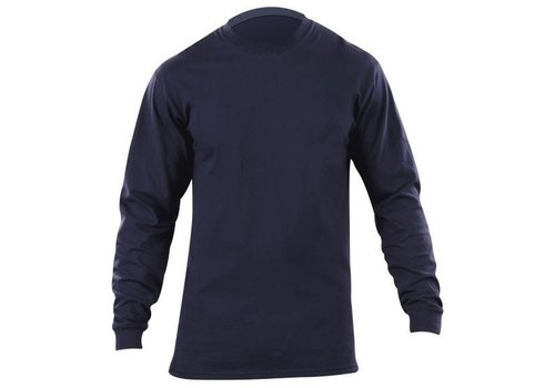 5.11 Tactical Station Wear L/S Tshirt - Navy Blue