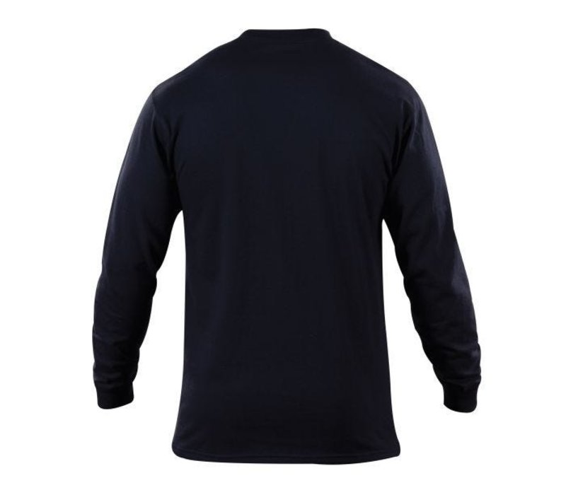 Station Wear L/S Tshirt - Navy Blue
